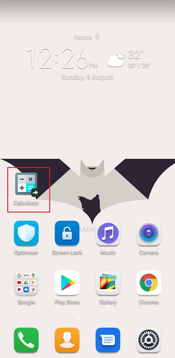 Shortcut for the app with its customized icon will be added to the home screen