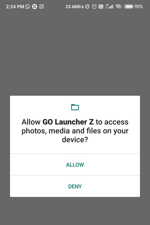 Tap on the install button and wait for it to download completely