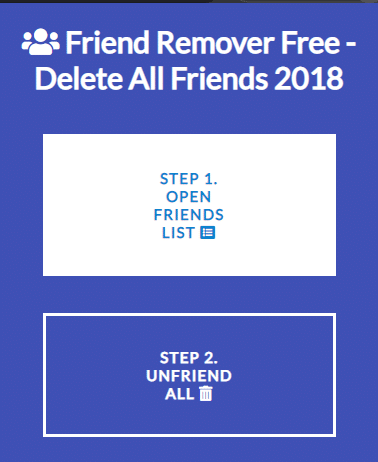 Click on first one is to open your friend's list