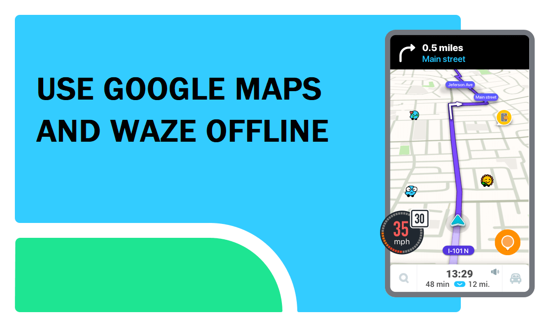 How To Use Google Maps & Waze Offline to Save Internet Data