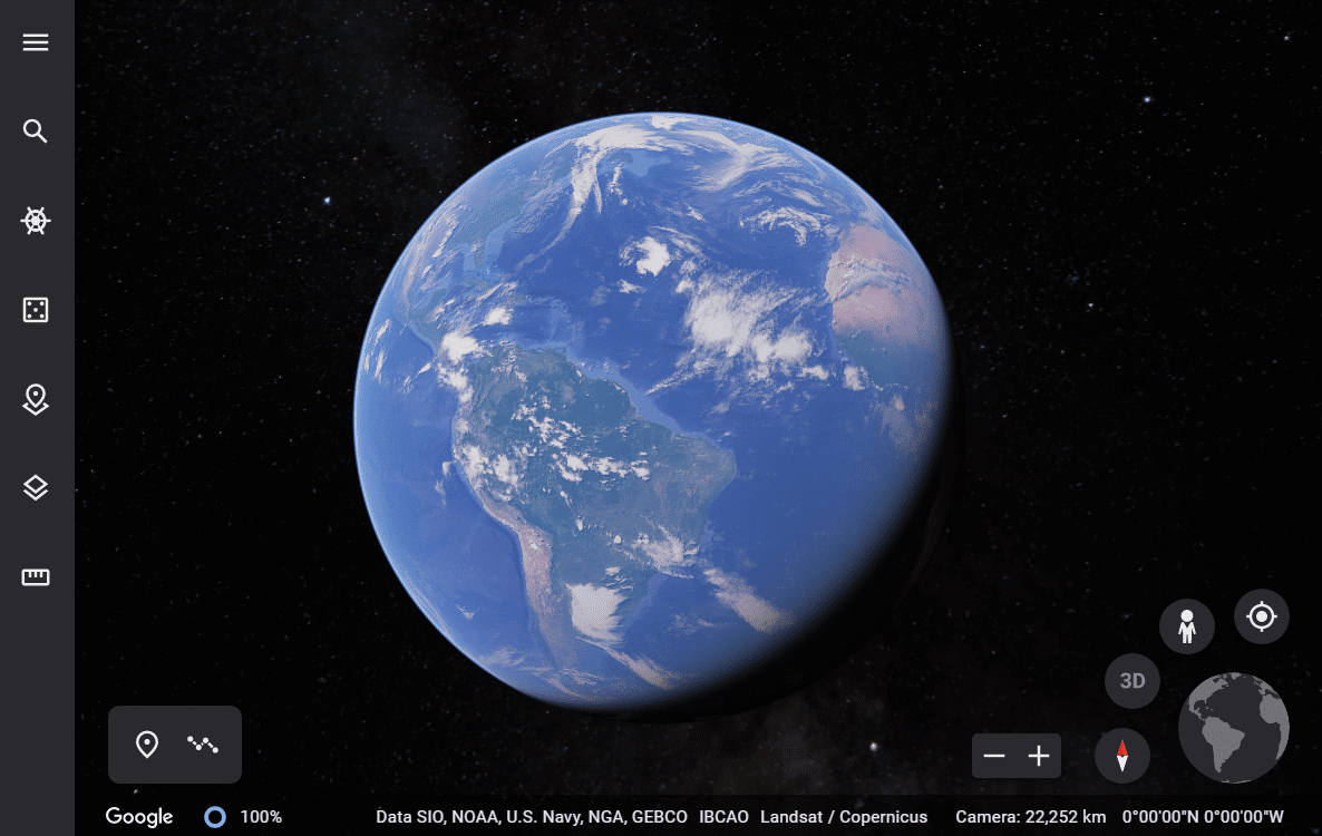 How often does Google Earth Update