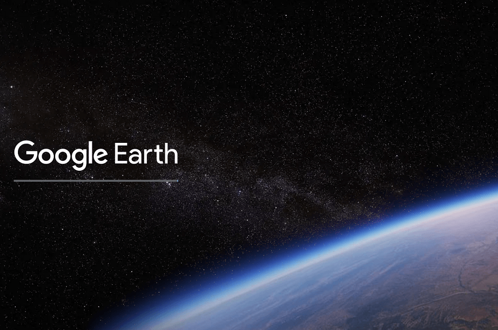 What specifically does Google Earth update