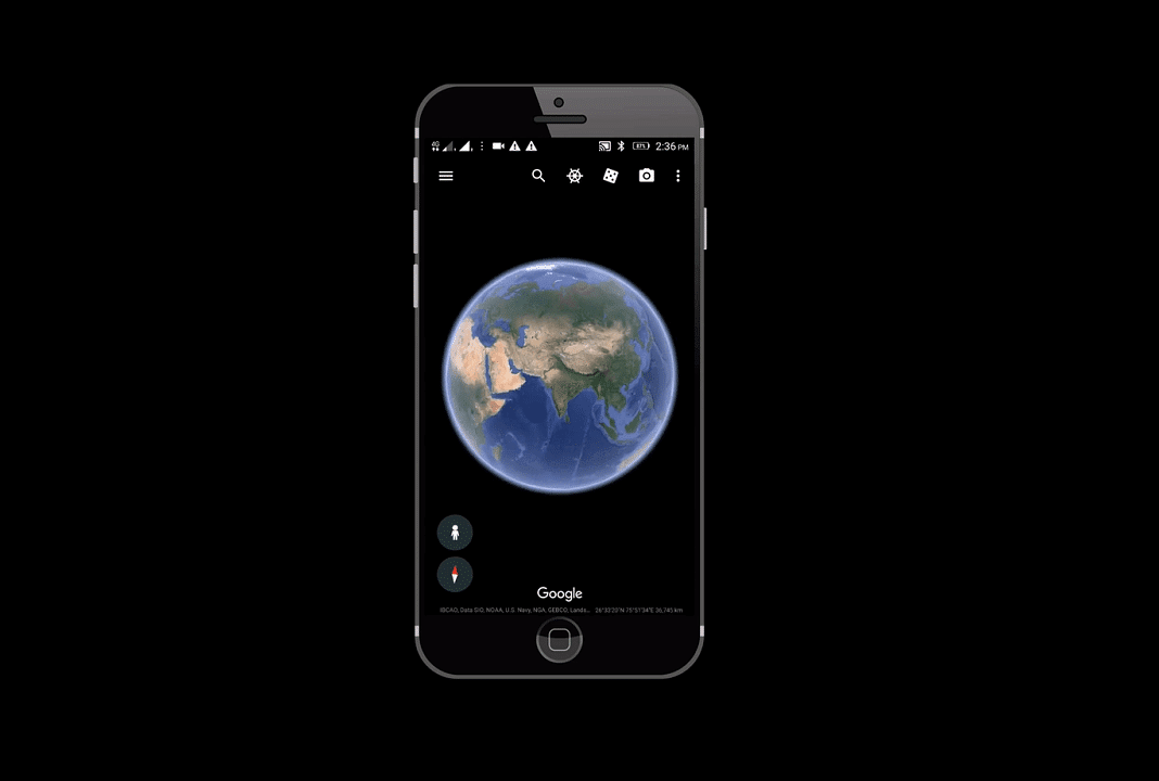 Why aren't the Google Earth updates continuous
