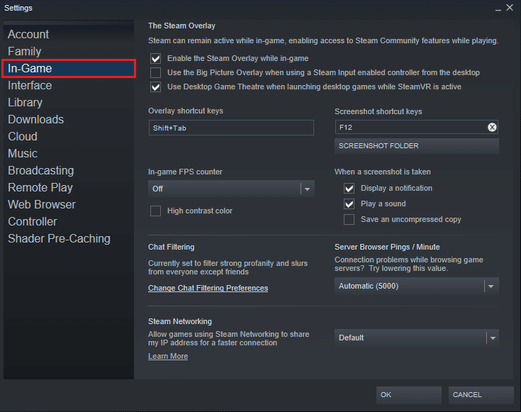 In Settings, go to the 'In-game' option.  Check FPS in games