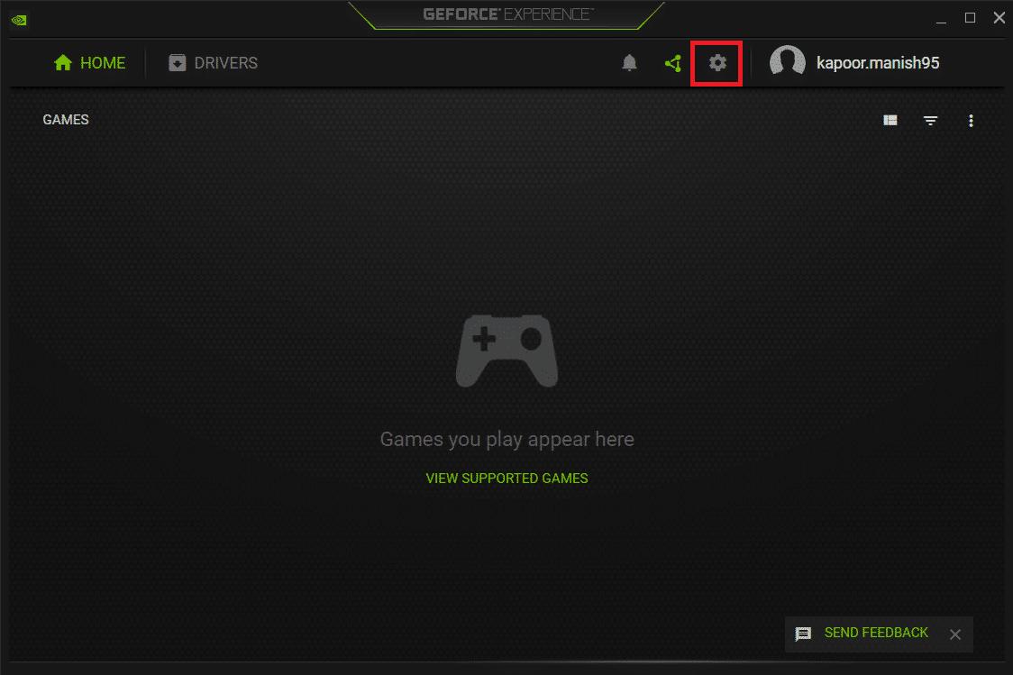 Nvidia GEForce Experience Settings