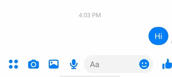Open the chat from which you want to delete the message for both sides | Permanently Delete Facebook Messenger Messages from Both Sides