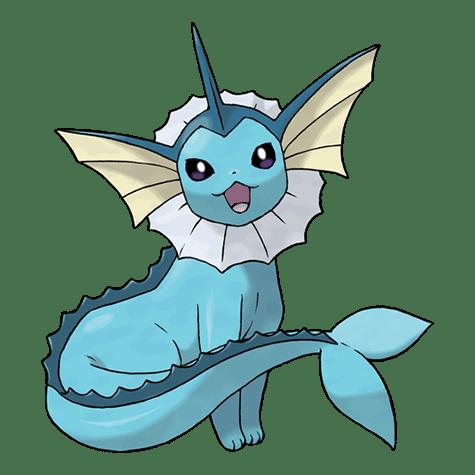 Vaporeon   evolve Eevee in Pokémon Go