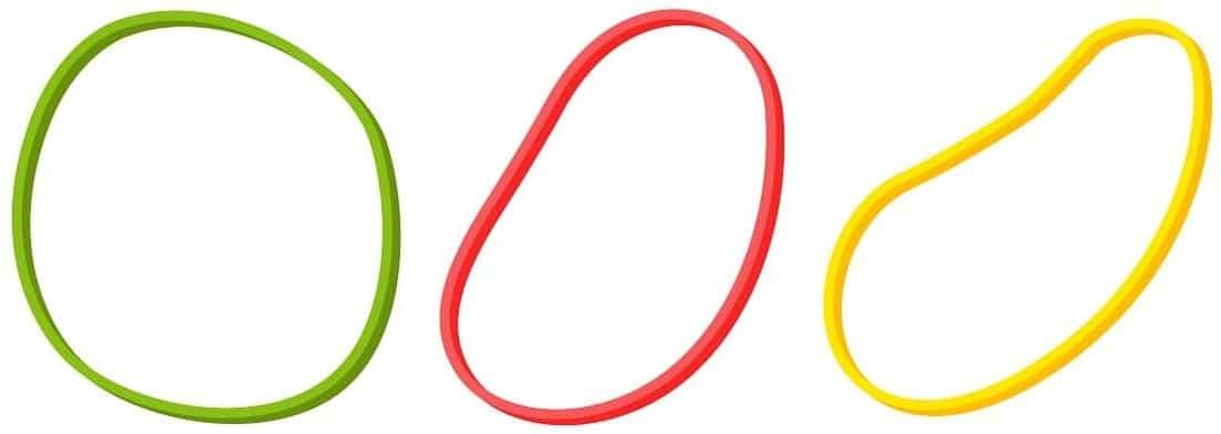 obtain a rubber band