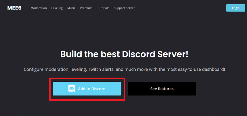 tap on the 'Add on Discord' | Delete All Messages in Discord
