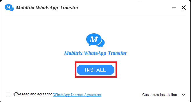 use the Mobitrix WhatsApp transfer for moving your WhatsApp data to your iPhone.