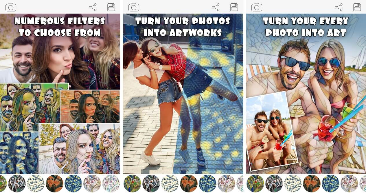 Cartoon Photo Filters-CoolArt   19 Best Apps to Cartoon yourself for Android and iOS Users