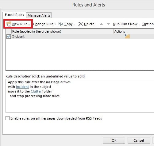Click on the 'email rules' tab and choose 'new rule.'   How To Recall An Email In Outlook?