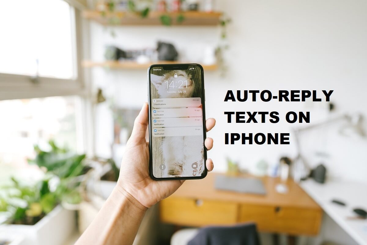 How To Auto-Reply to Texts on the iPhone