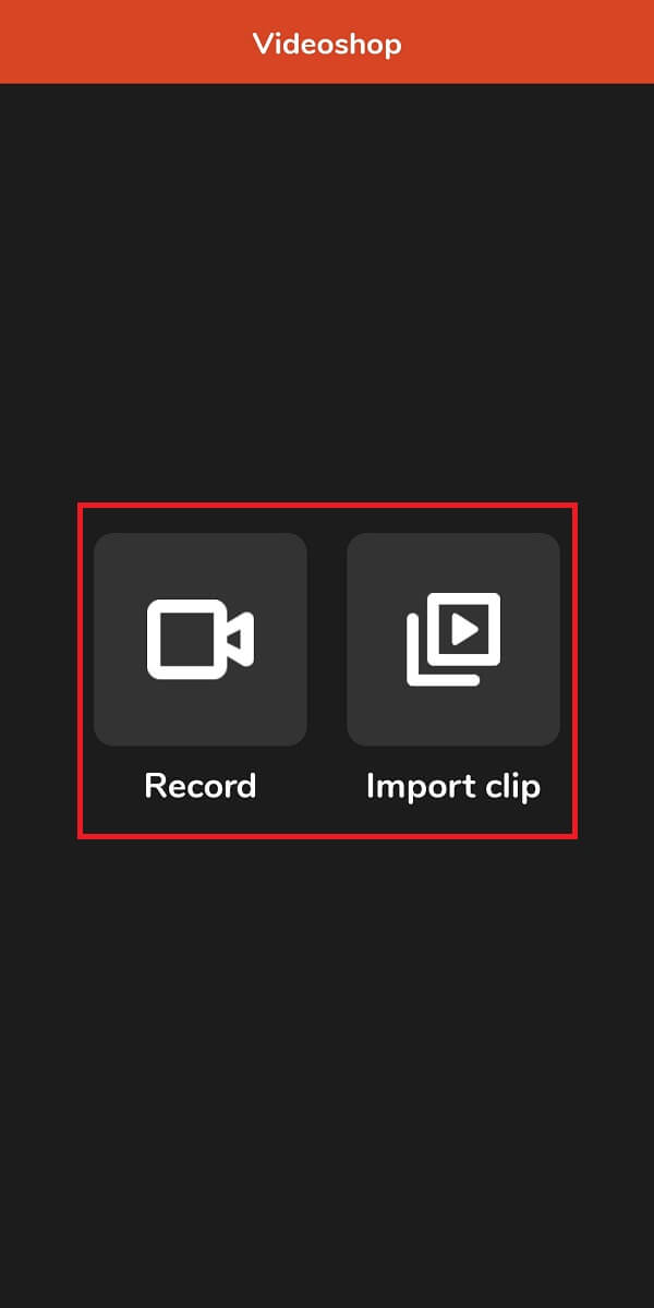 Open the app and select the preferred option | How To Record Slow-motion Videos On Any Android Phone?