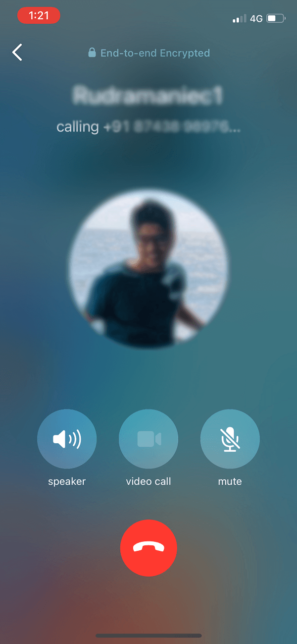 Use the In-built Screen Recorder to Record WhatsApp Video Calls