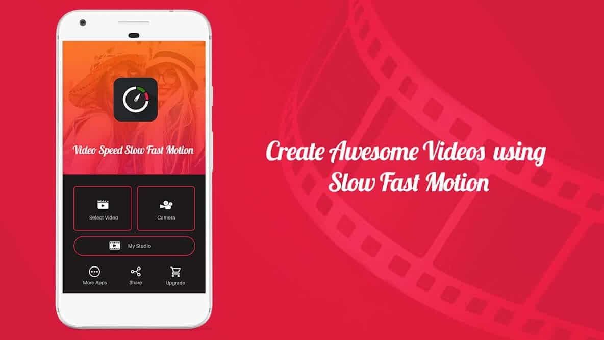 Open Google Play Store and install 'Video speed'