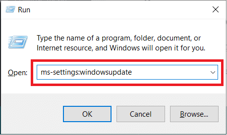 ms settings windows update