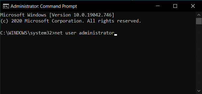 net user administrator   Enable Or Disable Administrator Account On Login Screen In Windows 10