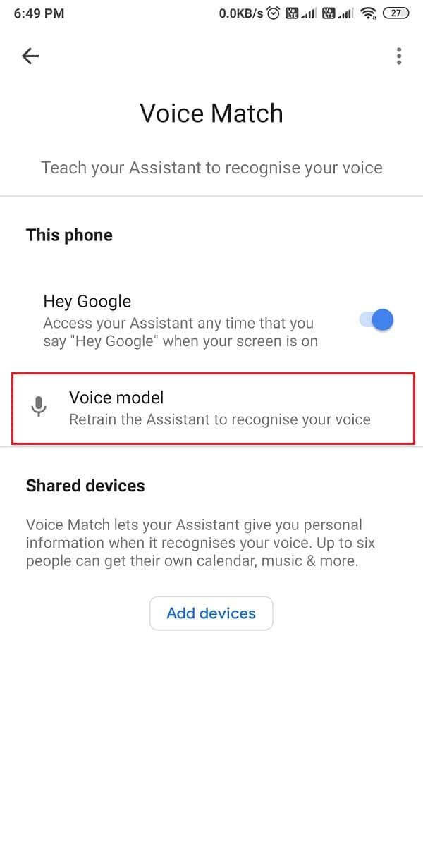 open Voice model.