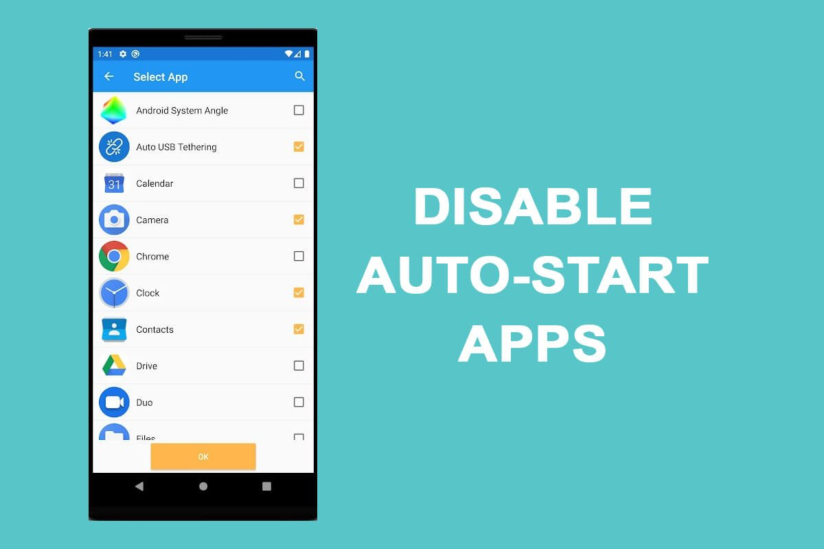 How to Disable Auto-start Apps on Android