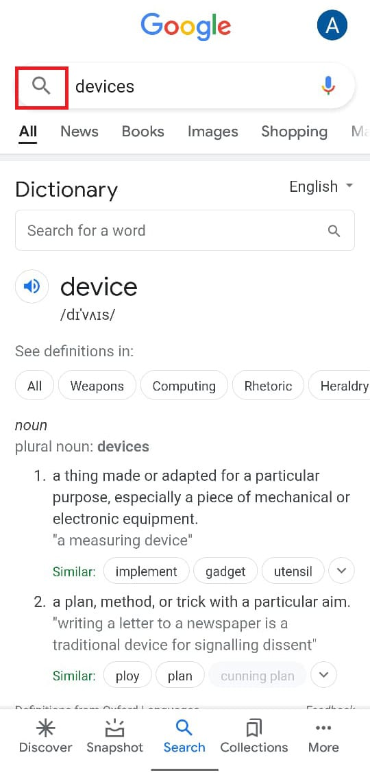 Tap on the search bar and type 'Settings.' | How to Bypass Google Account Verification on Android Phone