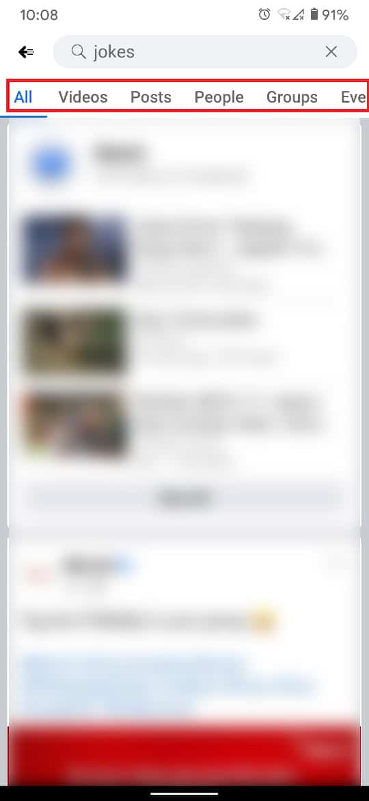 Choose the category that best explains the type of Facebook page   How to Do an Advanced Search on Facebook