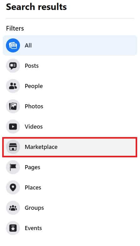 Click on 'Marketplace' to open the range of products