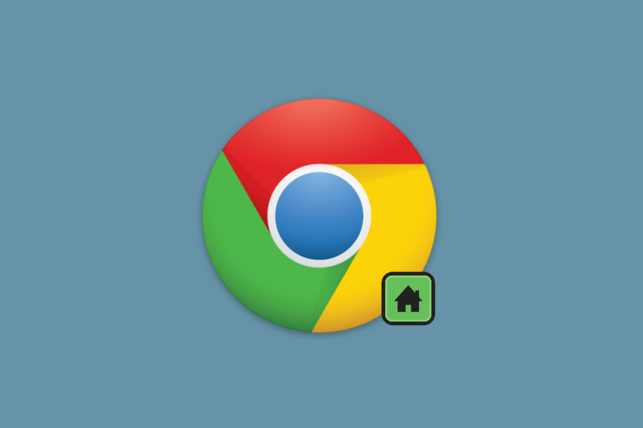 How to enable home button in Google Chrome
