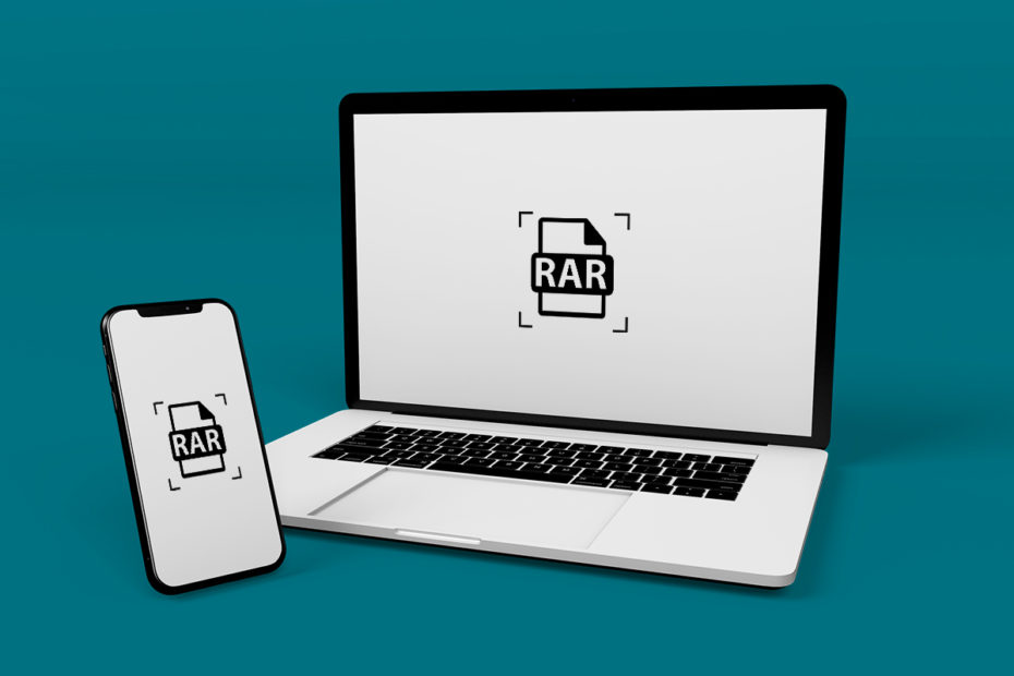 How to extract RAR files on PC or mobile