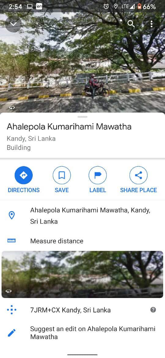 You can label, save or share the location | How to Drop a Pin on Google Maps (Mobile and Desktop)