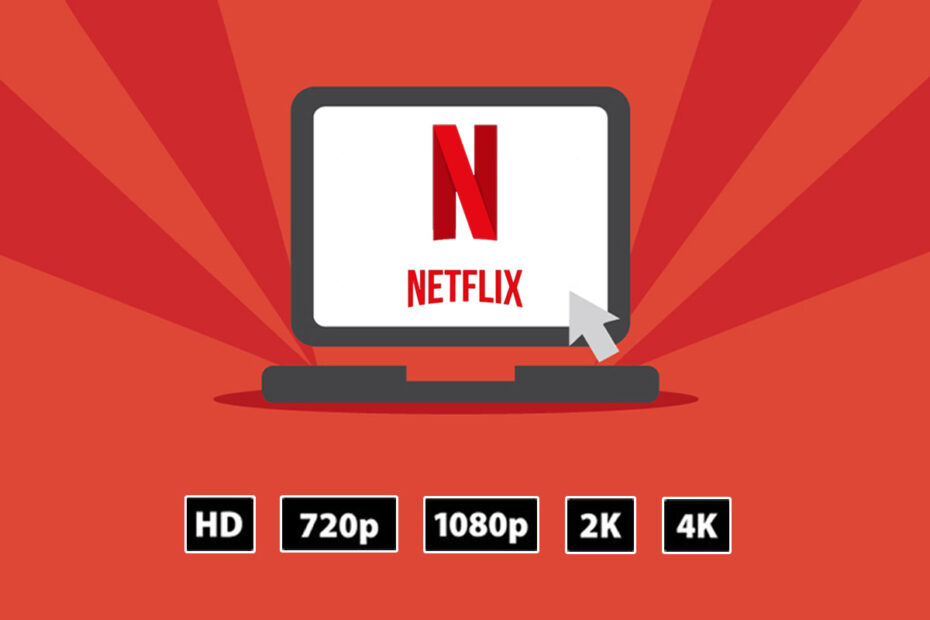 Change Netflix Video Quality on Windows 10 PC