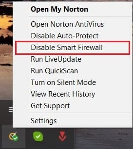 Disable antivirus firewall | Fix NET::ERR_CONNECTION_REFUSED in Chrome