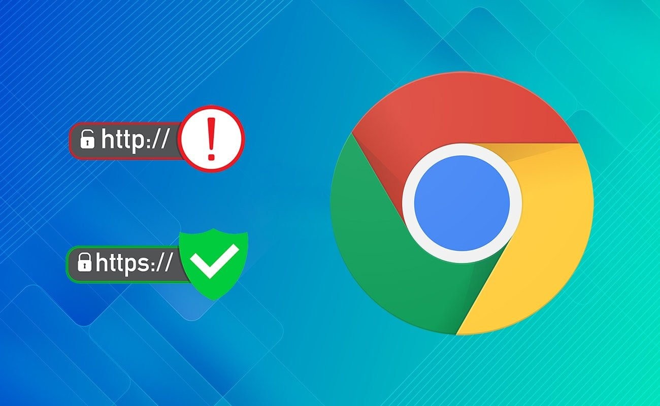 Enable or disable not secure warning in Google Chrome