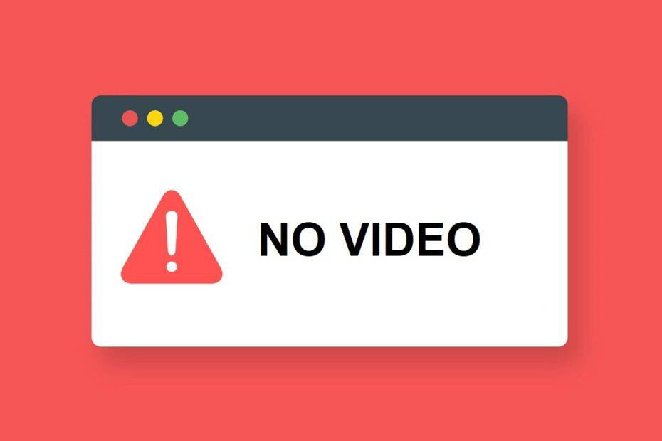 Fix No Video with Supported Format and MIME type found
