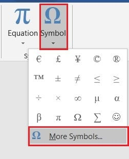 In top right corner, click on symbol and then select more symbols