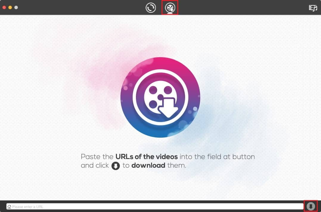 Paste the link and click on the download button | How to Download Video with Blob URL