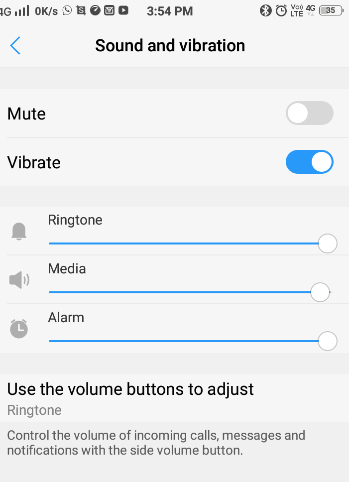Check for your mobile's media. Ensure it is at the highest level and is not muted or in silent mode.