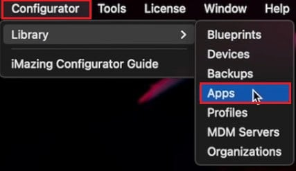 click on configurator library apps | How to Use Clubhouse on PC