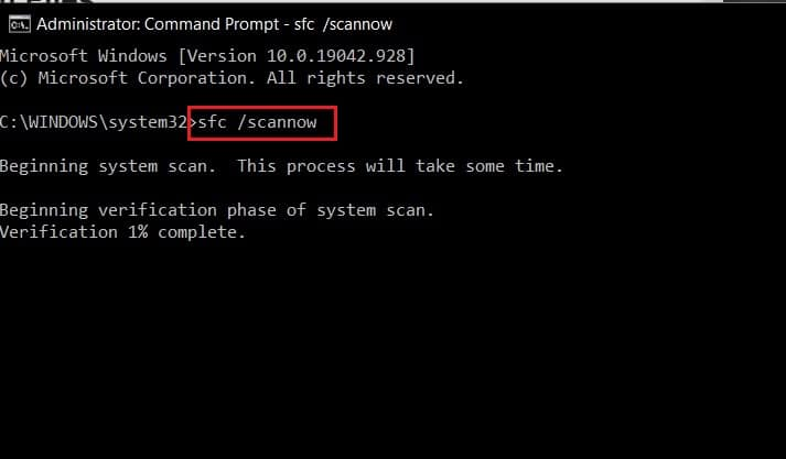enter the code and press enter to scan and fix registry | How to Fix Broken Registry Items in Windows 10