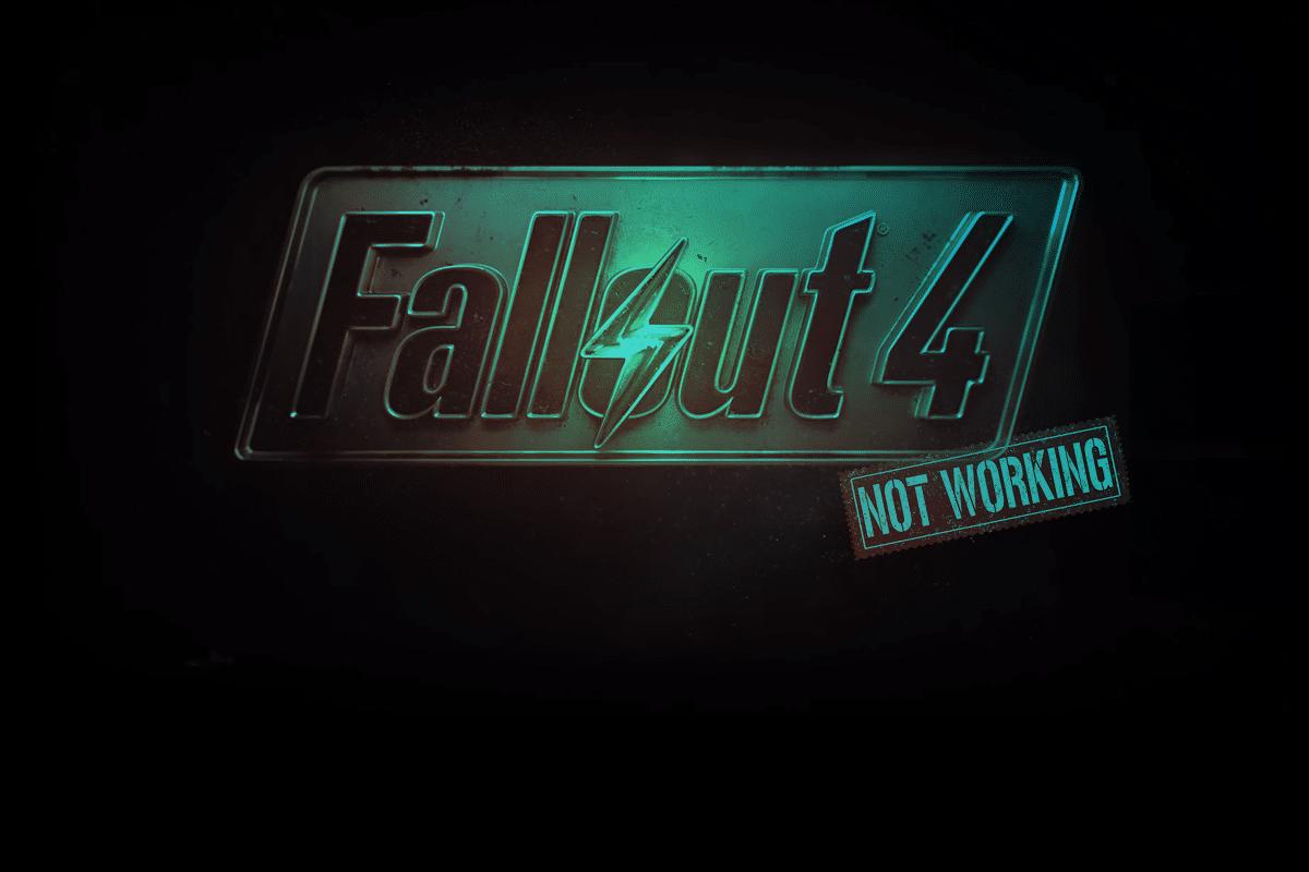 Fix Fallout 4 Mods Not Working