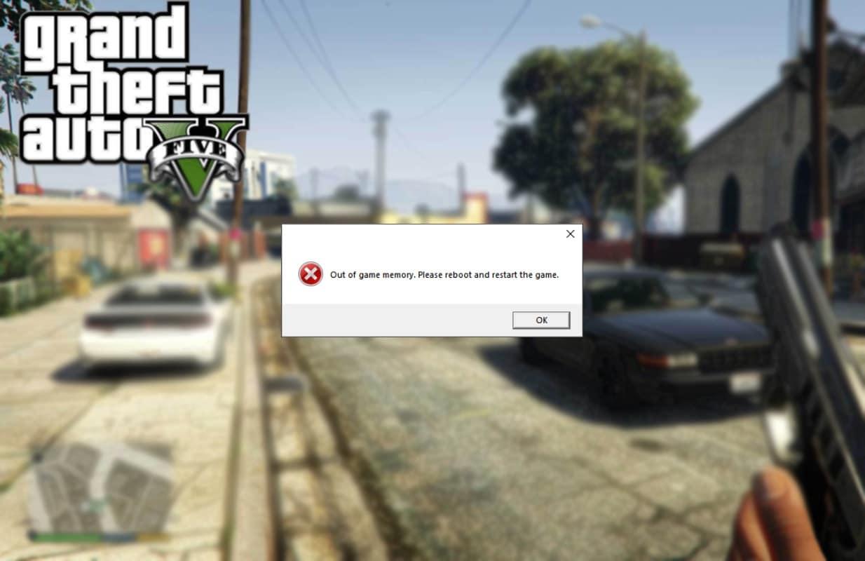 Fix GTA 5 Game Memory Error