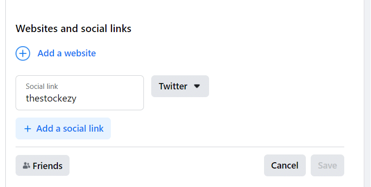Link your Facebook Account to Twitter