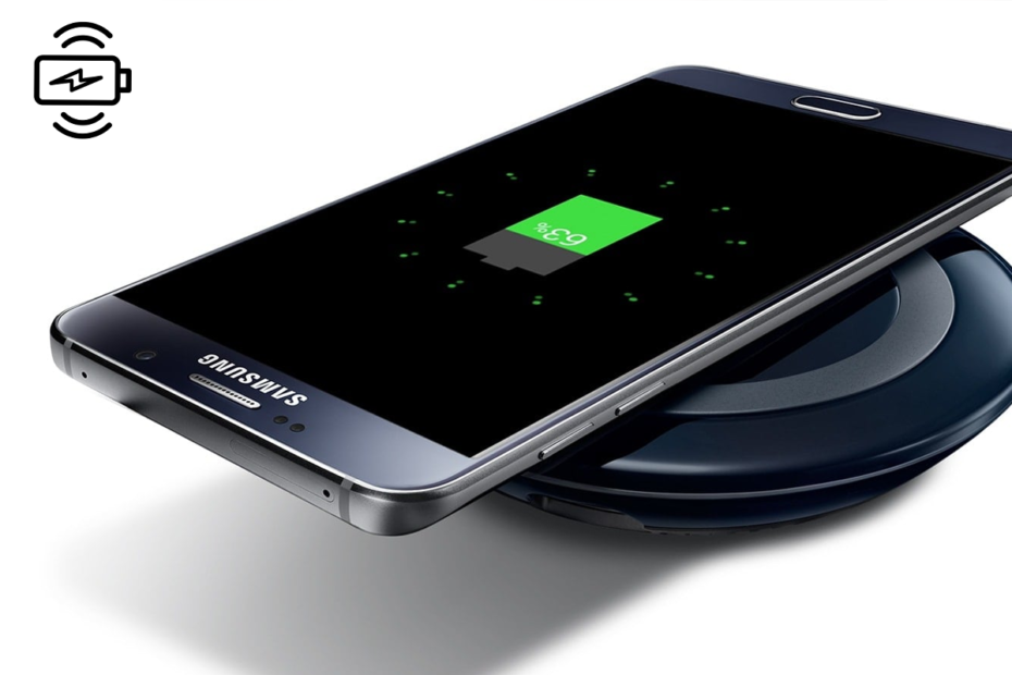 How does Wireless Charging work on Samsung Galaxy S8/Note 8
