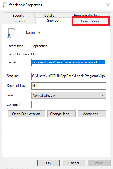 click the Compatibility button | Solved: Fallout 4 Mods Not Working