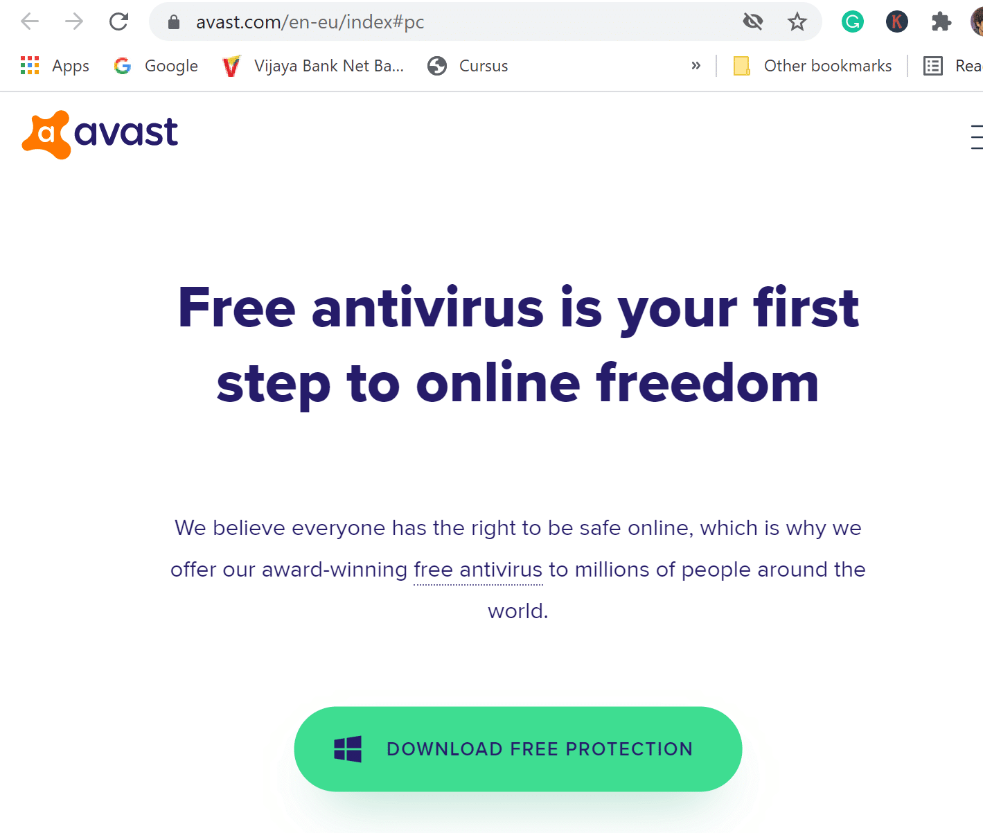 download avast antivirus for free
