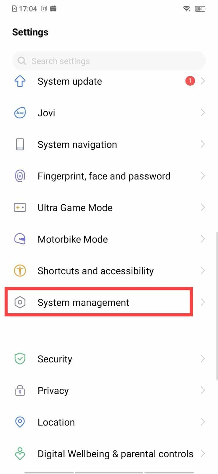 Go to System or System Management   How to Find your Own Phone Number on Android