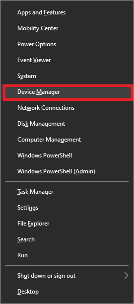 Navigate to Device Manager and click on it   How to Boost the Bass of Headphones and Speakers in Windows 10