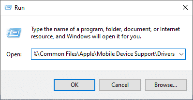 Press the Windows + R keys and open the Run command.