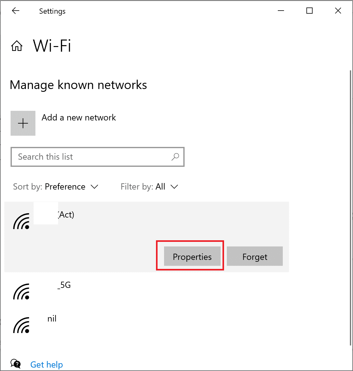 Select your Wi-Fi network and then, select Properties | How to Fix 'Windows 10 Won't Update'