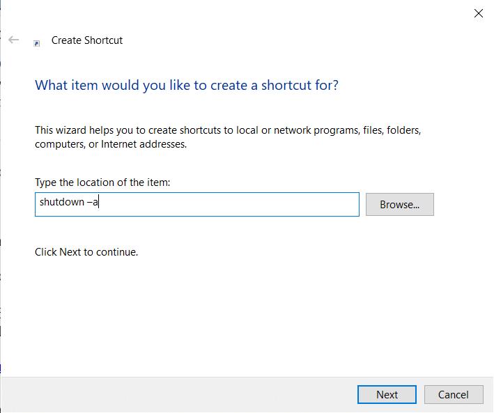 How to Disable Windows 10 Sleep Timer Desktop Shortcut